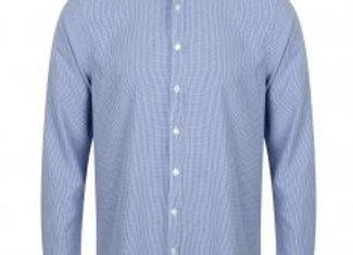 Henbury Gingham Long Sleeve Shirt