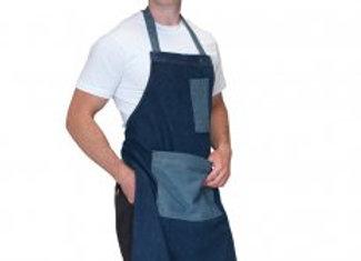 Dennys Heavyweight Denim Pocket Bib Apron