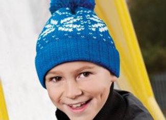 Beechfield Junior Fair Isle Snowstar® Beanie