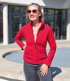 Result Ladies Horizon High Grade Micro Fleece Jacket