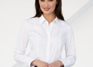 Brook Taverner Ladies Palena Long Sleeve Poplin Shirt
