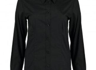 Bargear Ladies Long Sleeve Tailored Shirt