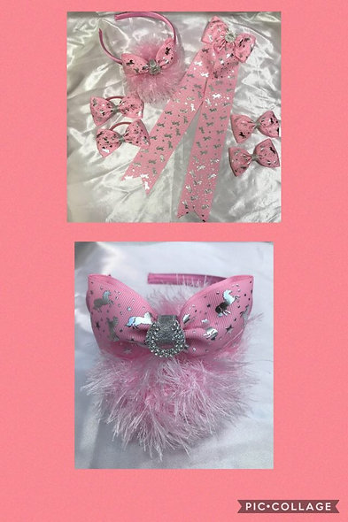 Showing ribbons,bows,clips - Wide variety/make to order - INDIVIDUAL prices from