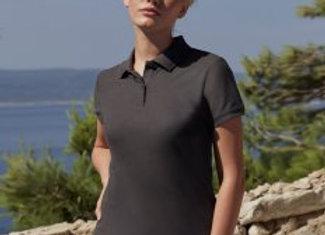 Fruit of the Loom Lady-Fit Premium Cotton Piqué Polo Shirt
