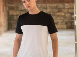 AWDis Unisex Colour Block T-Shirt