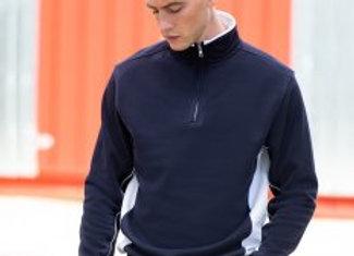 Finden and Hales Zip Neck Sweatshirt