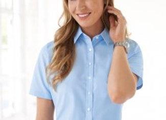Brook Taverner Ladies One Eos Short Sleeve Poplin Shirt