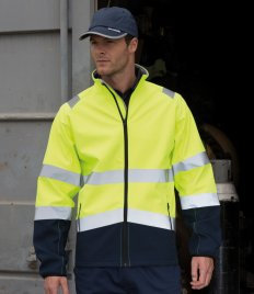 Result Safe-Guard Printable Safety Soft Shell Jacket