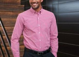 Brook Taverner Montana Gingham Long Sleeve Shirt