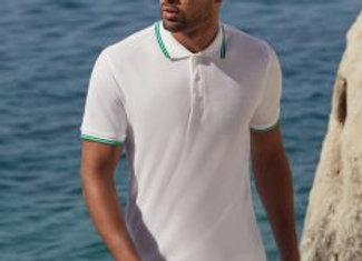 Fruit of the Loom Premium Tipped Cotton Piqué Polo Shirt