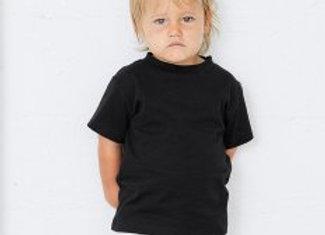 Canvas Toddler Crew Neck T-Shirt