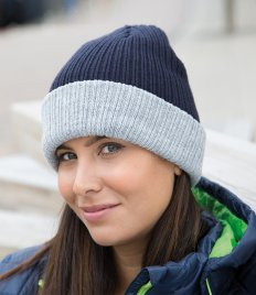 Result Double Layer Knitted Hat