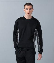 Finden and Hales Contrast Crew Neck Sweatshirt
