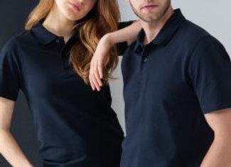 Henbury Unisex Stretch Cotton Piqué Polo Shirt