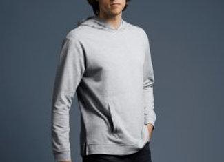 Anvil Unisex Light Terry Hooded Sweatshirt