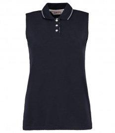 Gamegear Ladies Proactive Sleeveless Cotton Piqué Polo Shirt