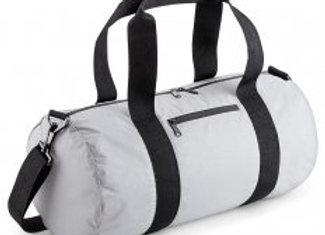 BagBase Reflective Barrel Bag