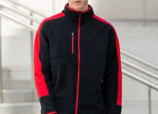 Finden and Hales Unisex Micro Fleece Jacket