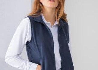 Henbury Ladies Sleeveless Micro Fleece Jacket
