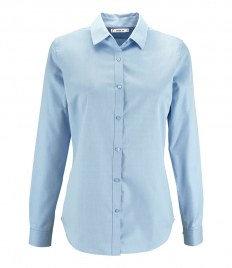 SOL'S Ladies Brody Herringbone Long Sleeve Shirt