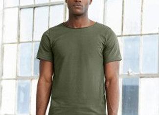Canvas Unisex Raw Neck T-Shirt