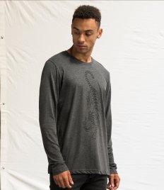 AWDis Long Sleeve Tri-Blend T-Shirt