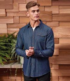 Premier Jeans Stitch Denim Shirt