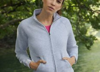 Fruit of the Loom Premium Lady Fit Sweat Jacket