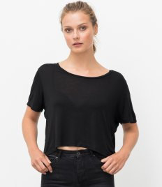 Ecologie Ladies Daintree EcoViscose Cropped T-Shirt
