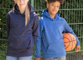 AWDis Kids Sports Polyester Hoodie