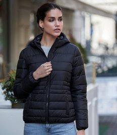 Tee Jays Ladies Zepelin Hooded Padded Jacket