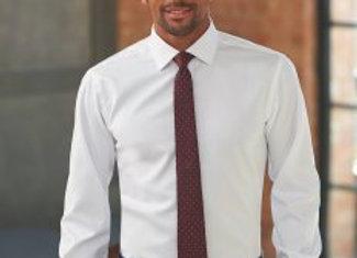 Brook Taverner Prato Long Sleeve Herringbone Shirt