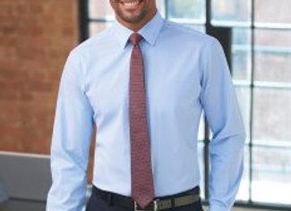Brook Taverner Pisa Long Sleeve Slim Fit Shirt