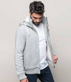 Kariban Vintage Sherpa Lined Hooded Sweatshirt