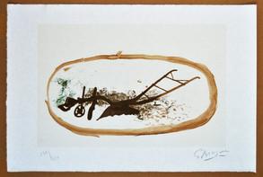 Georges Braque La Charrue 1960