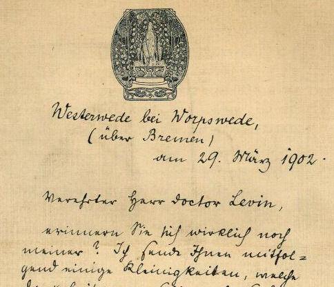 Rainer Maria Rilke in Worpswede