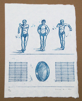 Max Ernst All the boys 1970