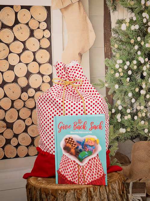 The Give Back Sack Storybook & Red Dot Sack Set