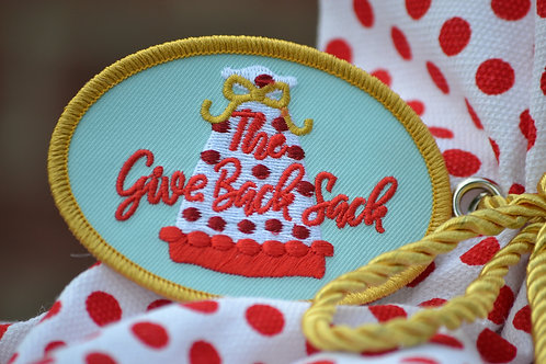 The Give Back Sack Scout Patch