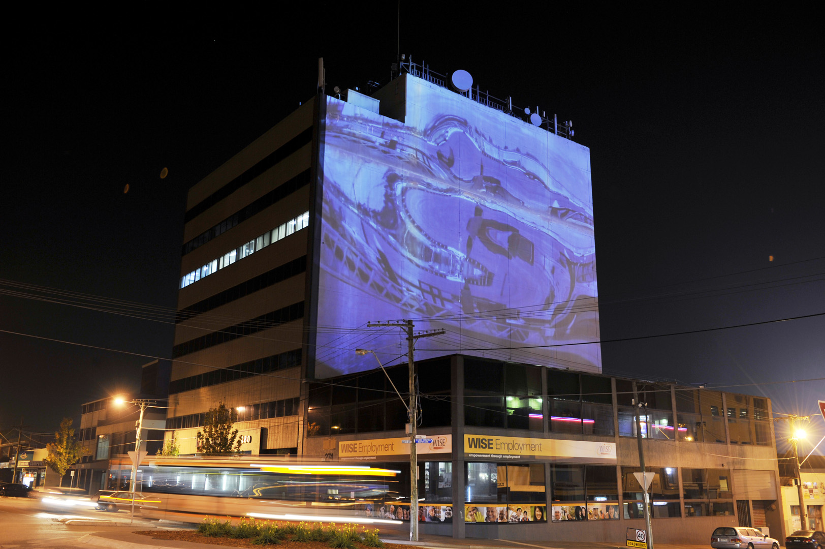 Dandenong Projection commission
