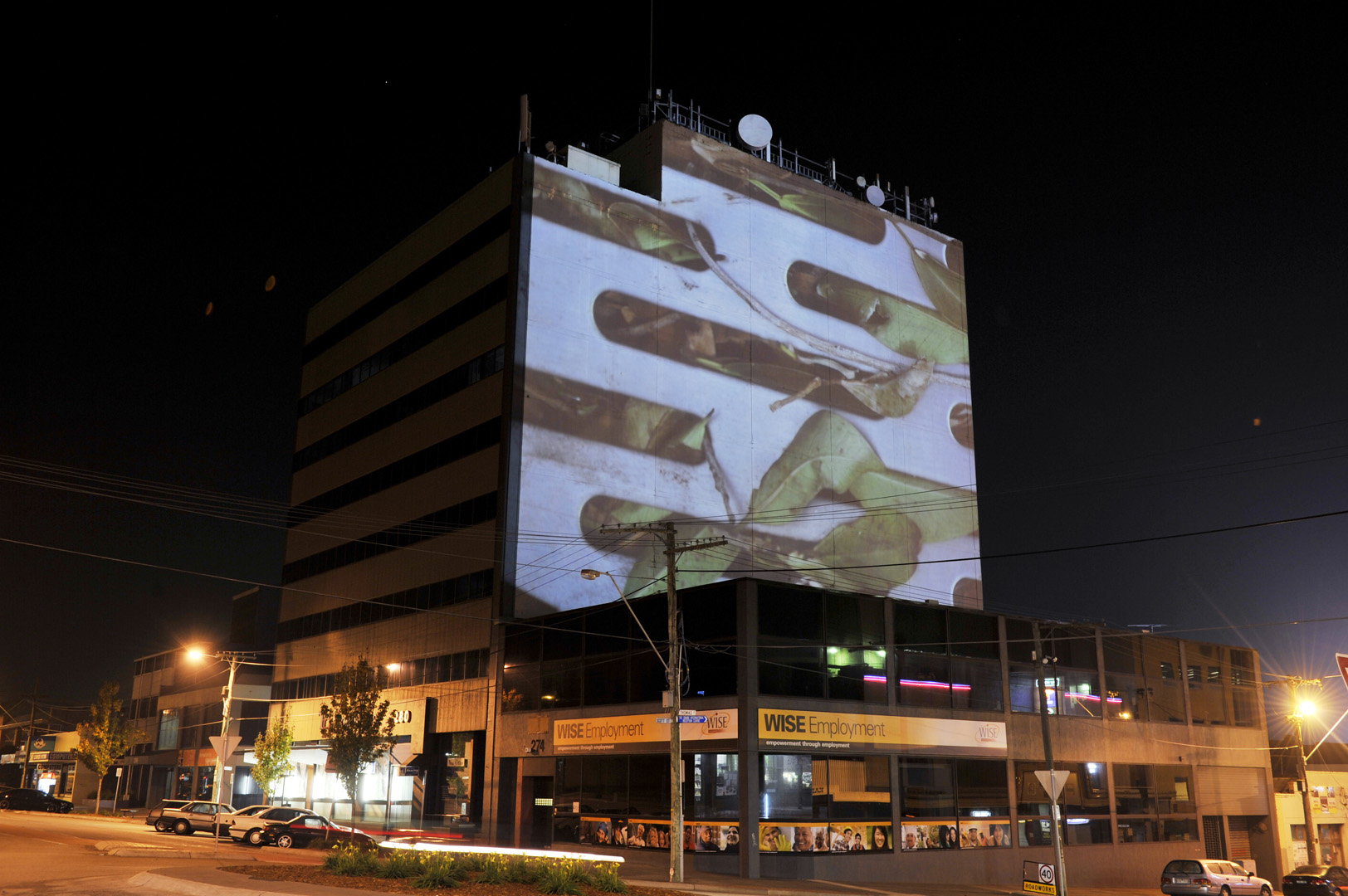 Projection Dandenong commission