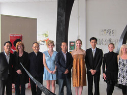 Official from China and RMIT artists
