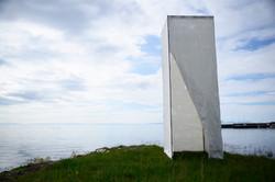 'Shading the light' installation