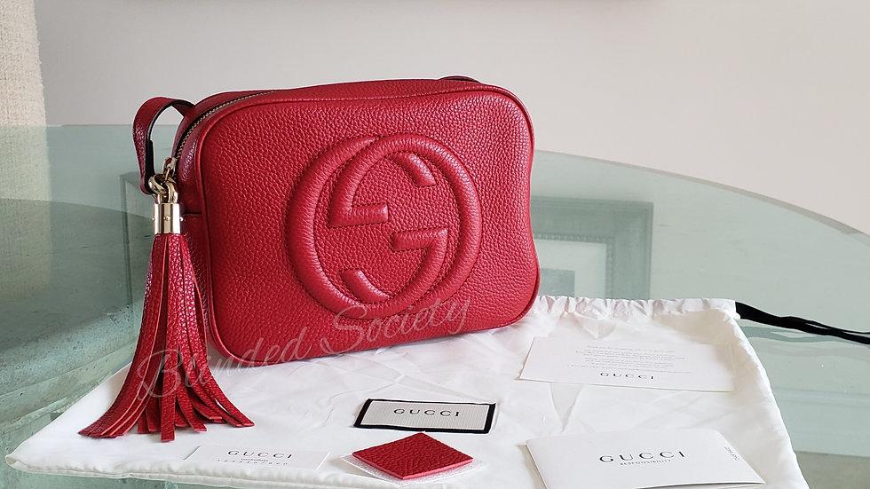 Gucci Soho Disco Vibrant Red