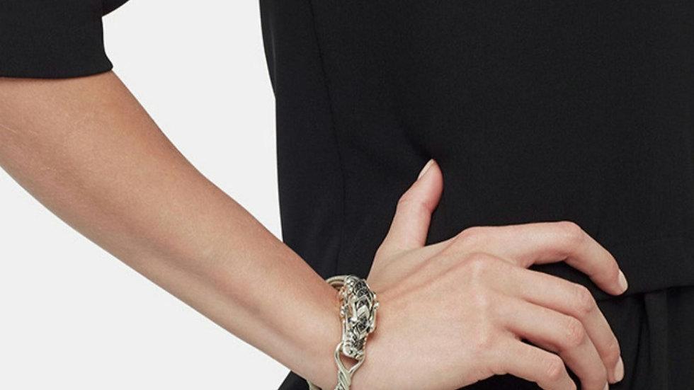 John Hardy Naga Dragon Legends Bracelet Black Sapphire Spinel Chain
