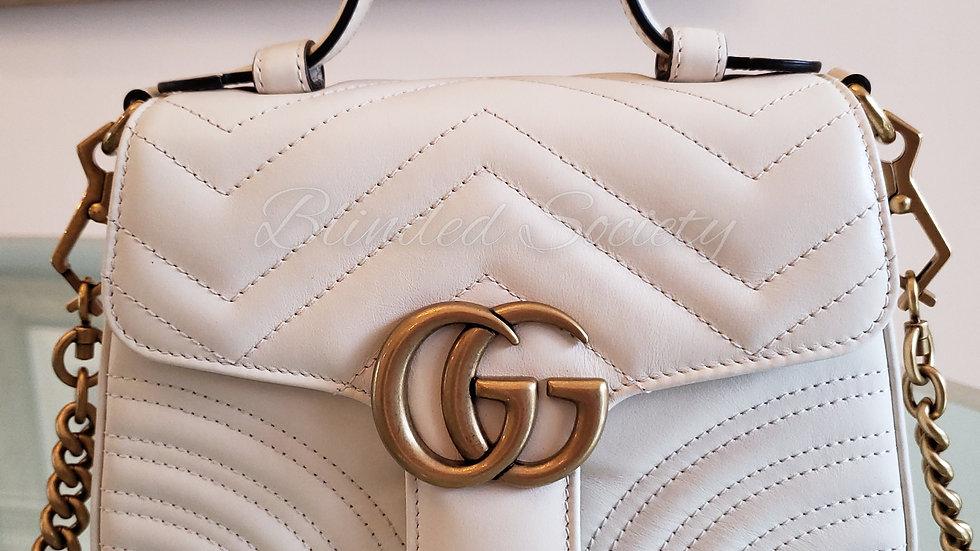 Gucci Mini Marmont Top Handle Handbag