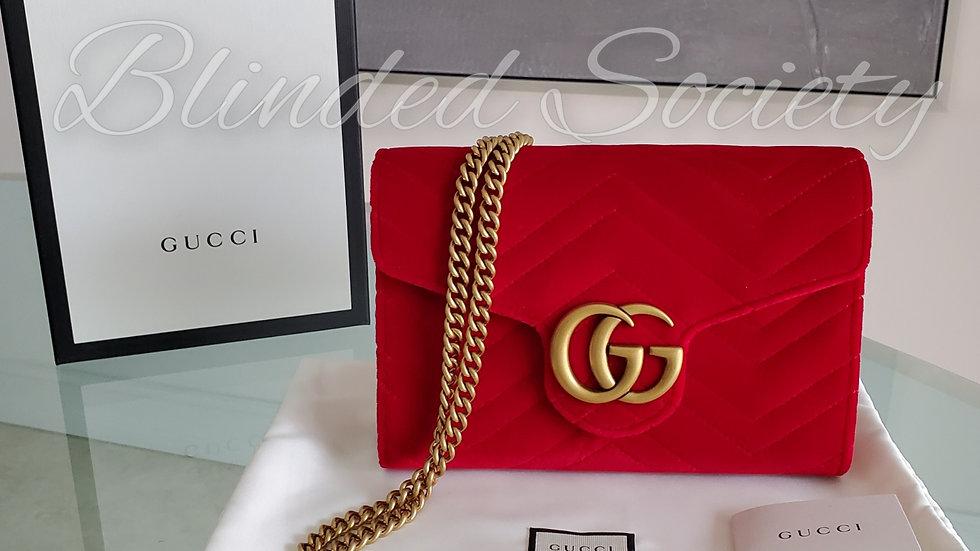Gucci Marmont WOC Mini Chain Crossbody