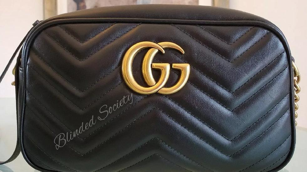 Gucci Small Marmont Crossbody Camera Bag