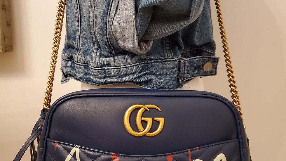 Gucci Marmont Medium Ghost Camera Bag