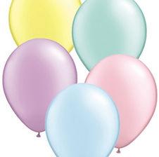 Latexballons in verschiedenen Größen und Farben